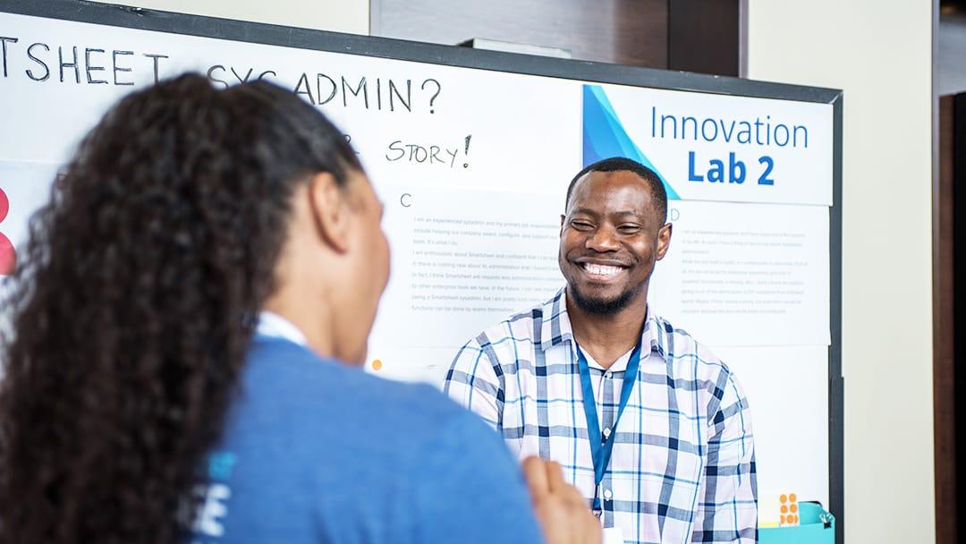 Innovation lab at Smartsheet ENGAGE'17
