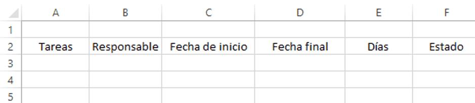 Formato Plan De Trabajo Word Under Fontanacountryinn Com