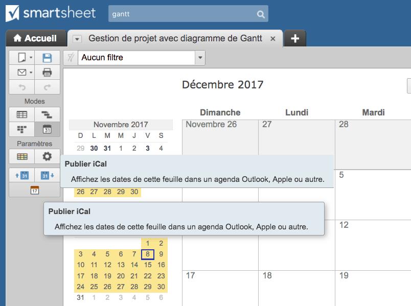 Logiciels de diagrammes de gantt pour mac les 10 fonctionnalits crer des calendriers ccuart Gallery