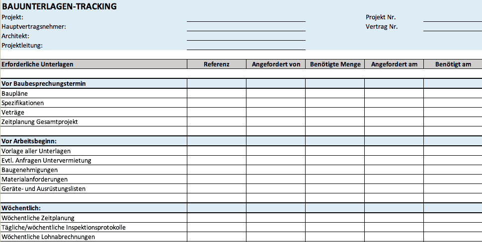High Quality 6 Construction Documentation Tracker Template DE.png
