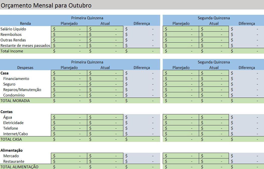 modelos gratuitos de planilhas para or u00e7amento no excel
