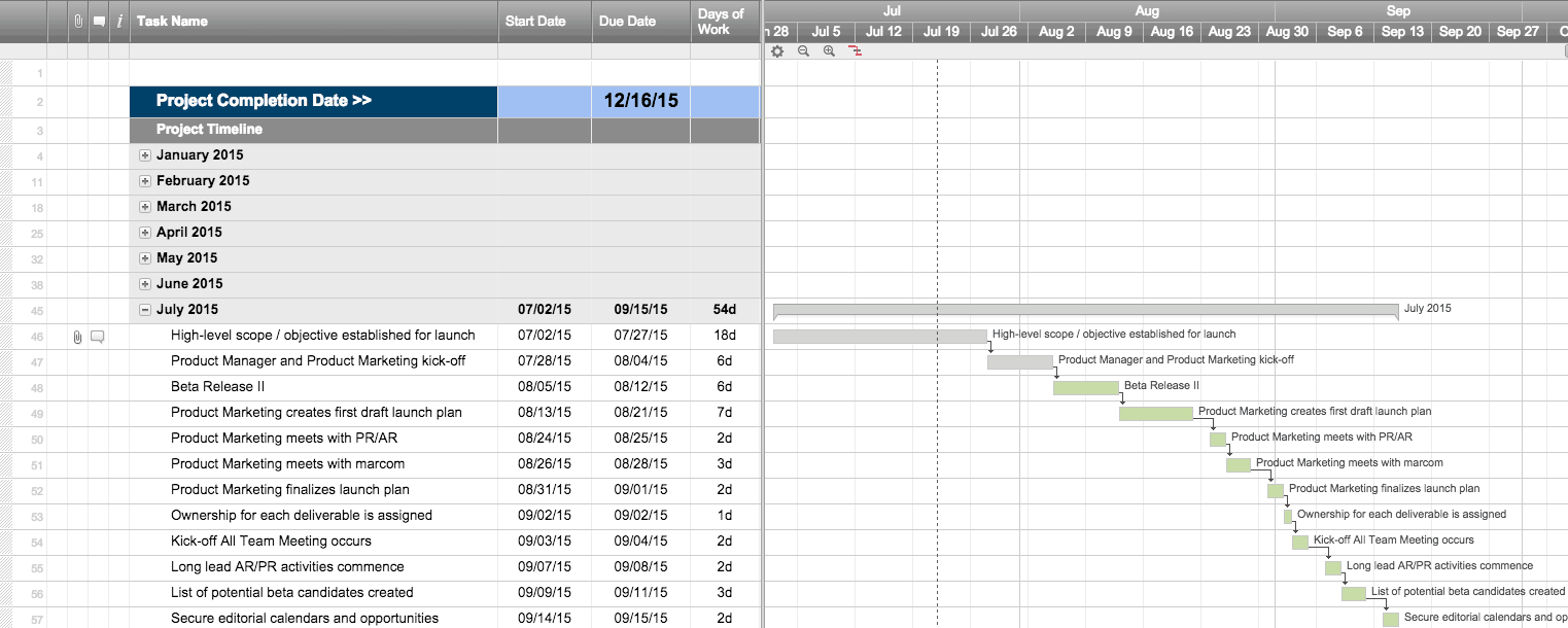 Monthly Schedule Templates In Smartsheet  Meeting Schedule Template