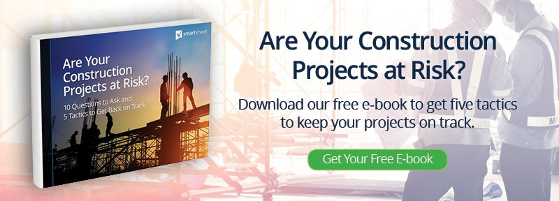 Critical path method for construction smartsheet construction project at risk ebook ad imageg fandeluxe Images