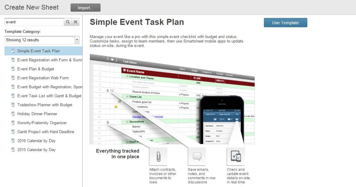 How to Use Smartsheet as Event Management Software