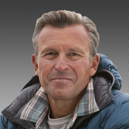 Ed Viesturs, High Altitude Mountaineer and Author
