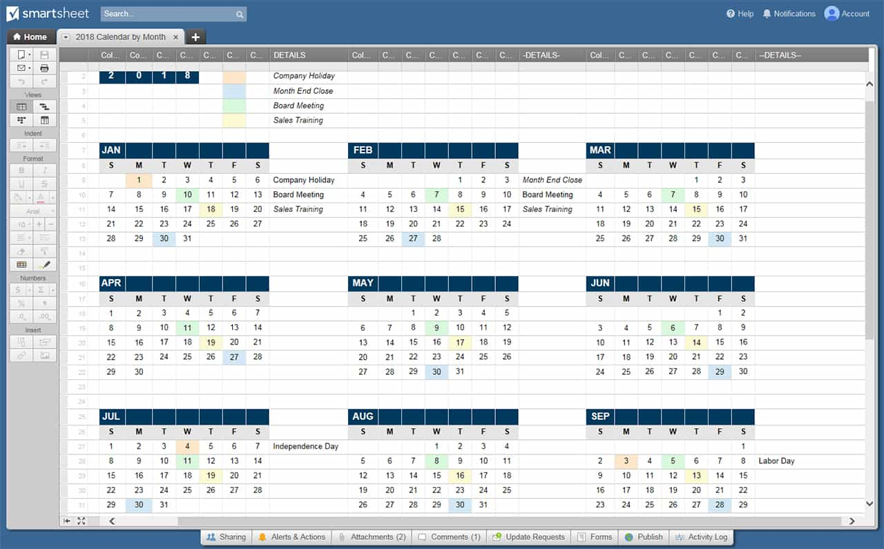 Great program calendar template images gallery sui for Filemaker pro calendar template free