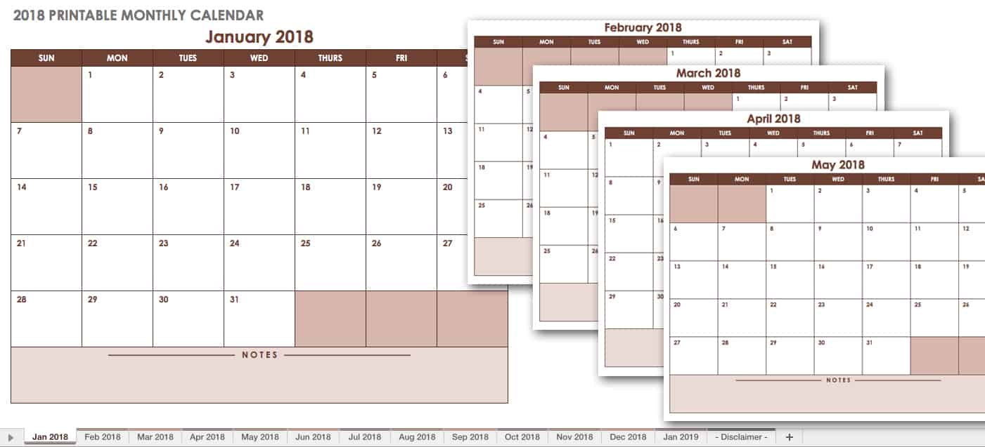 15 month calendar template - monthly calander contemplate antonym skeleton sports