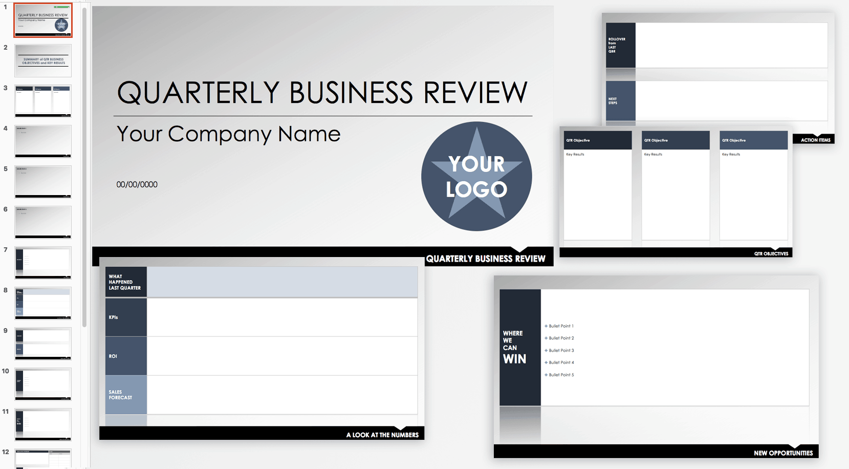 Free Qbr And Business Review Templates Smartsheet