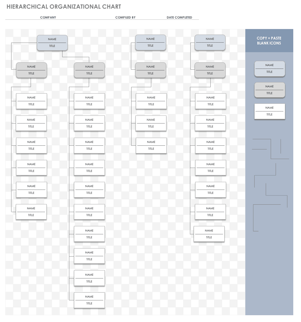 how to create an org chart in excel