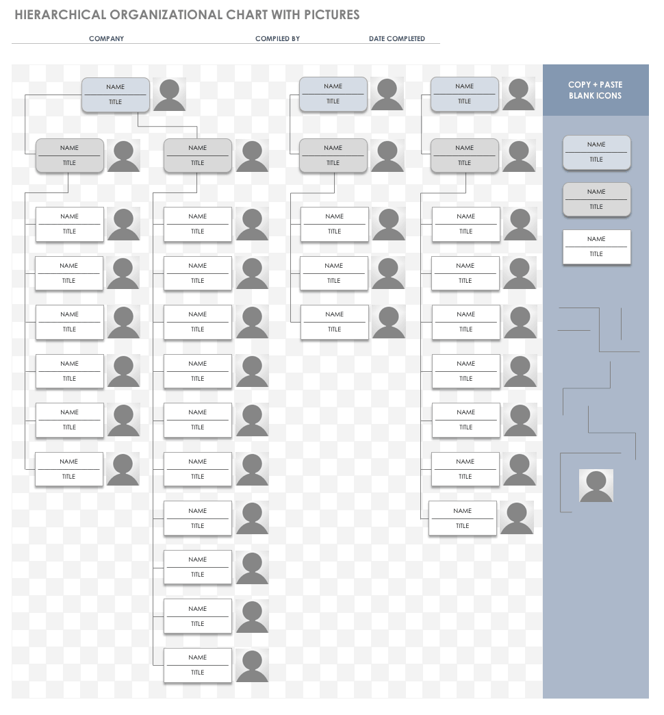Free Org Chart Templates For Excel