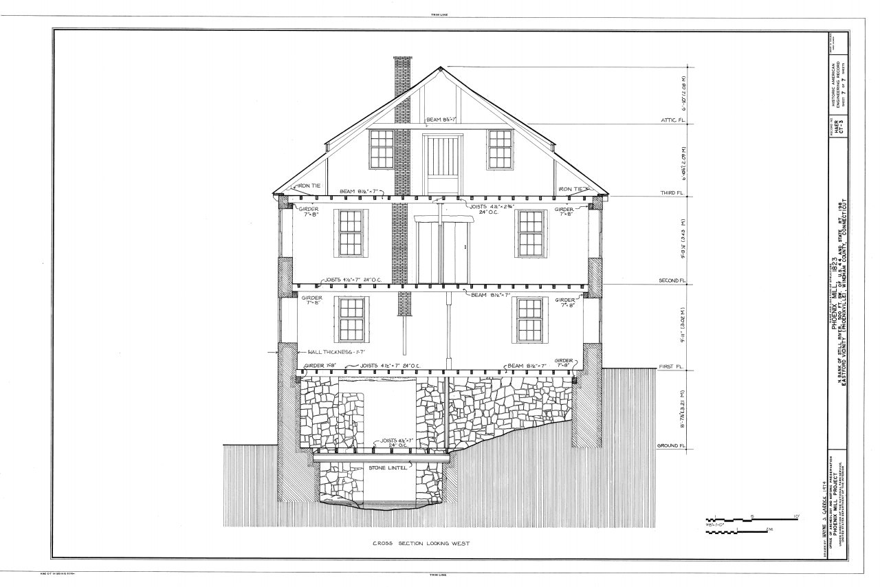A master class in construction plans smartsheet house cross section malvernweather Choice Image