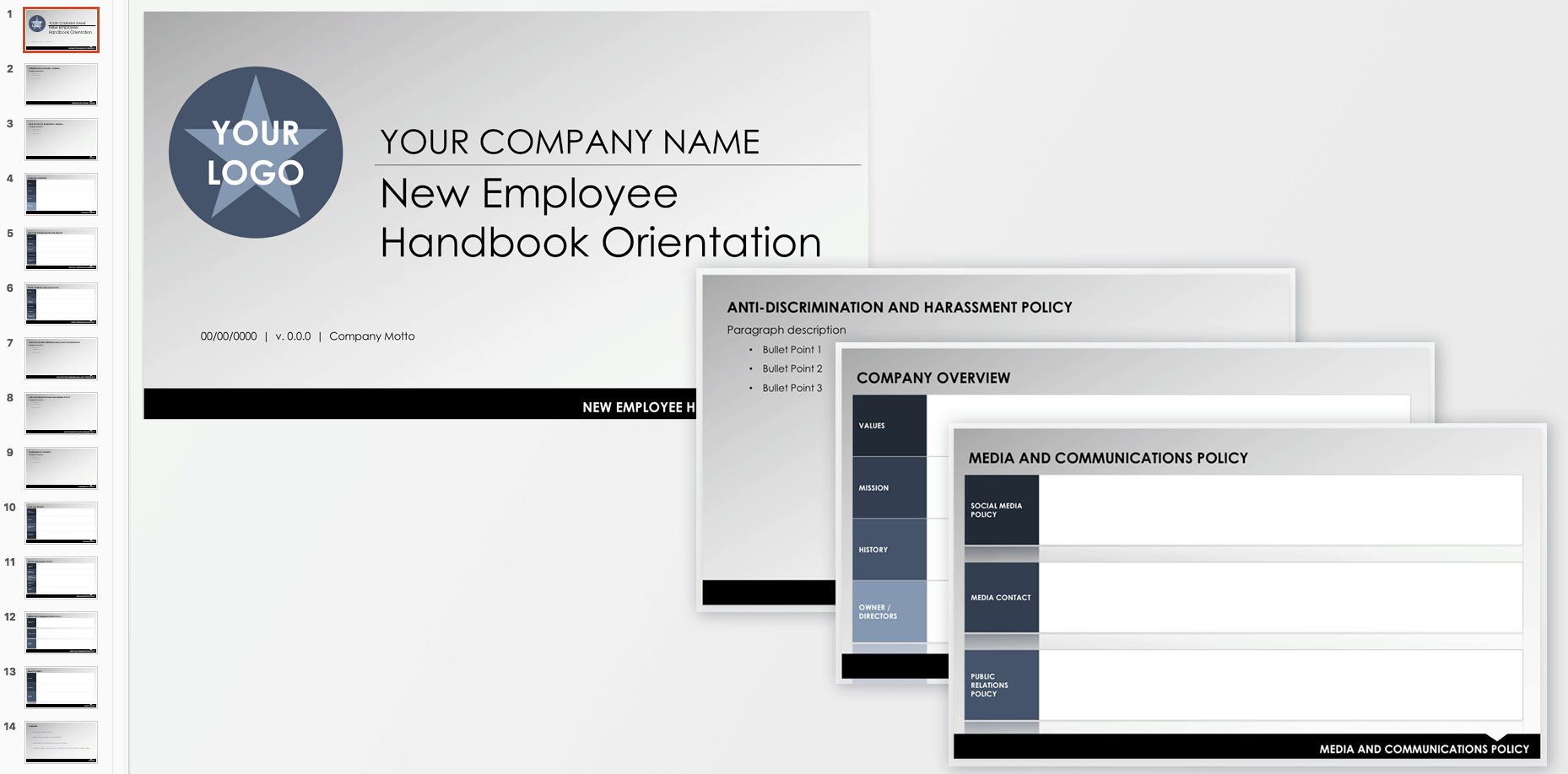 Employee And Company Handbook Templates Smartsheet