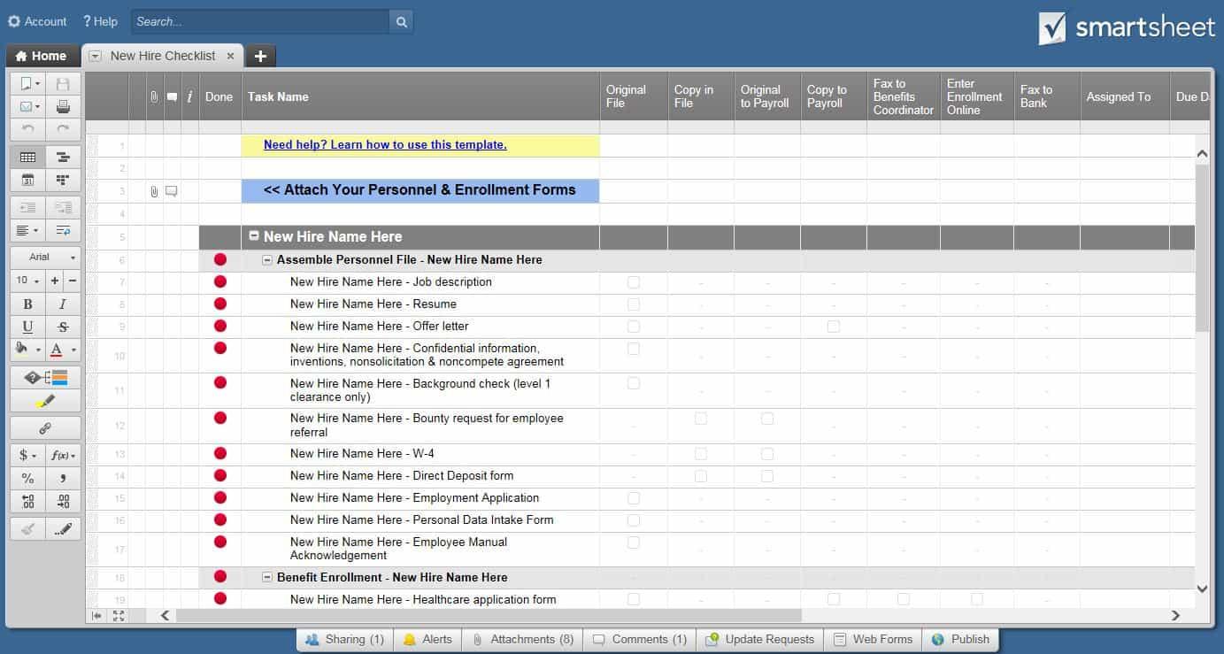 Employee Onboarding Process Tips and Tools Smartsheet – Onboarding Plan Template
