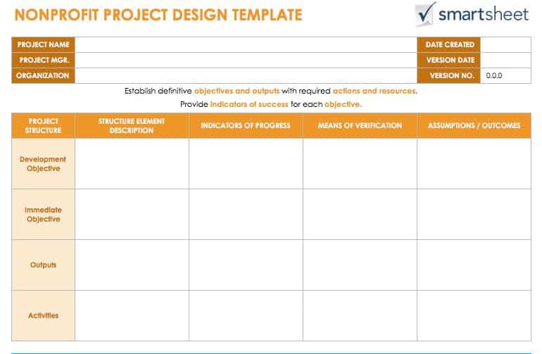 Guide for creating a project design smartsheet ic nonprofitprojectdesigng download the nonprofit project design template malvernweather Choice Image
