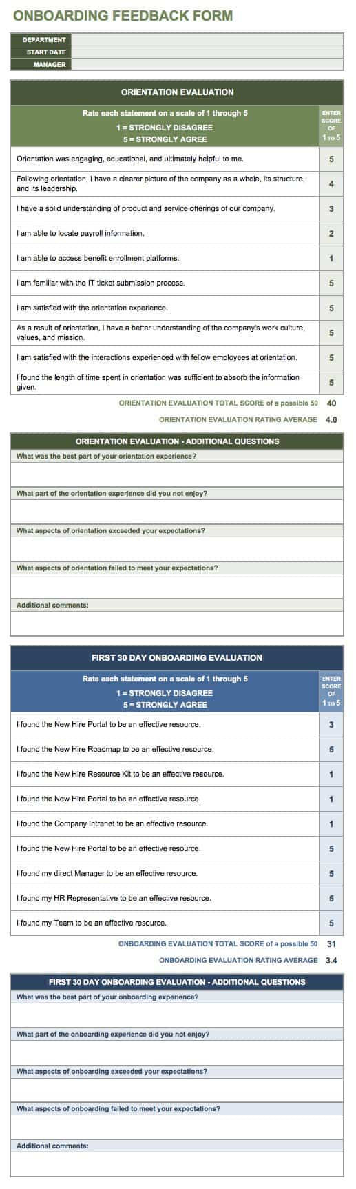 Free Onboarding Checklists and Templates Smartsheet – Onboarding Plan Template