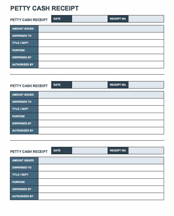 Free Business Receipt Templates Smartsheet