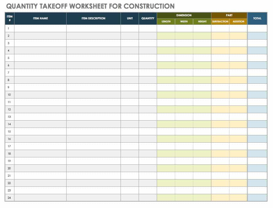 A Master Class In Construction Plans Smartsheet