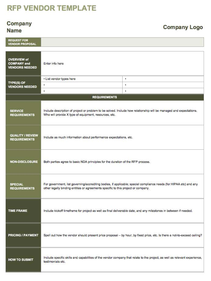 Vendor Template Vosvetenet – Vendors Contract Agreements