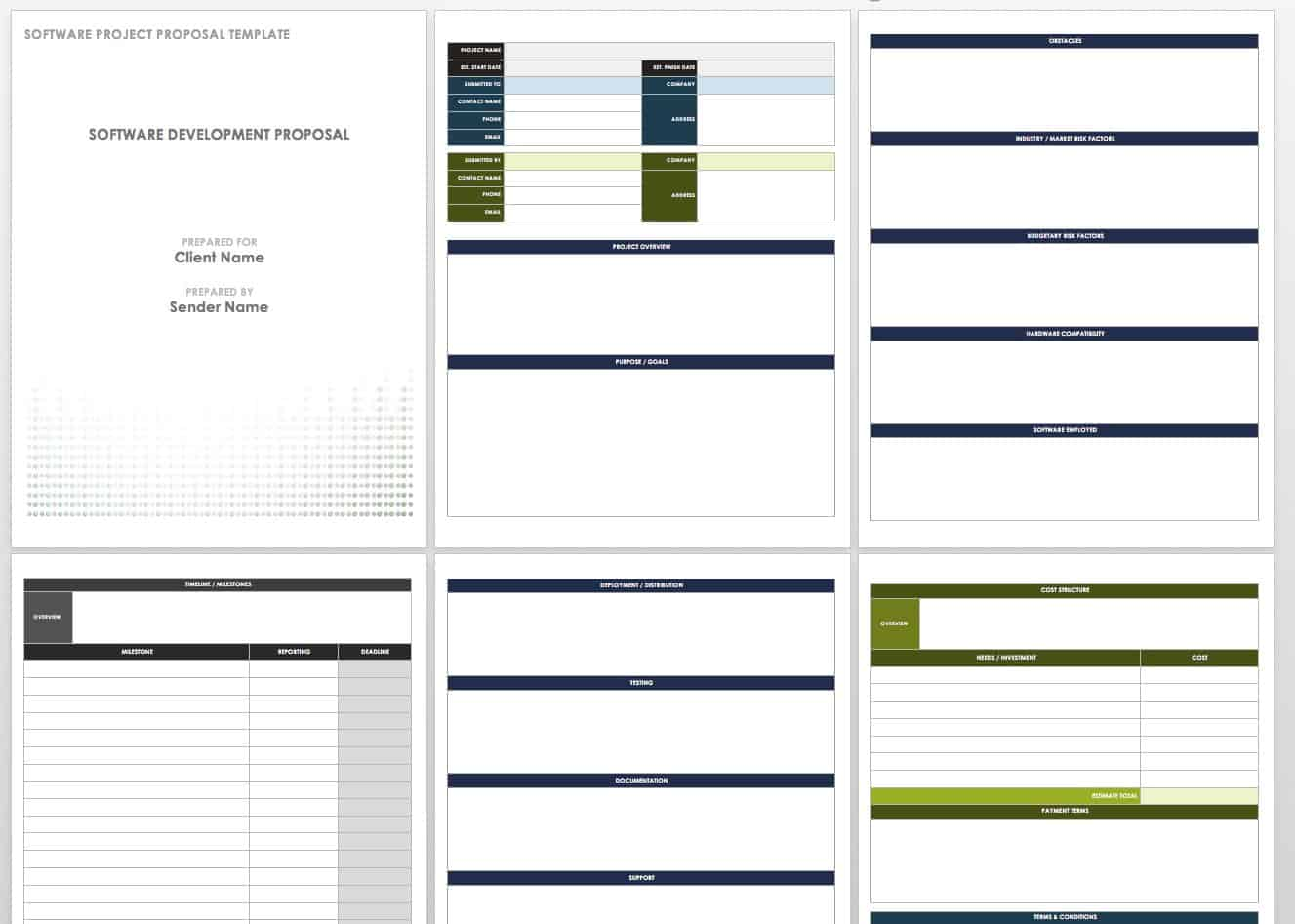 17 Free Project Proposal Templates Smartsheet