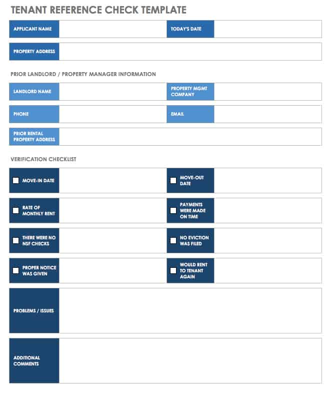 Free Property Management Templates  Smartsheet