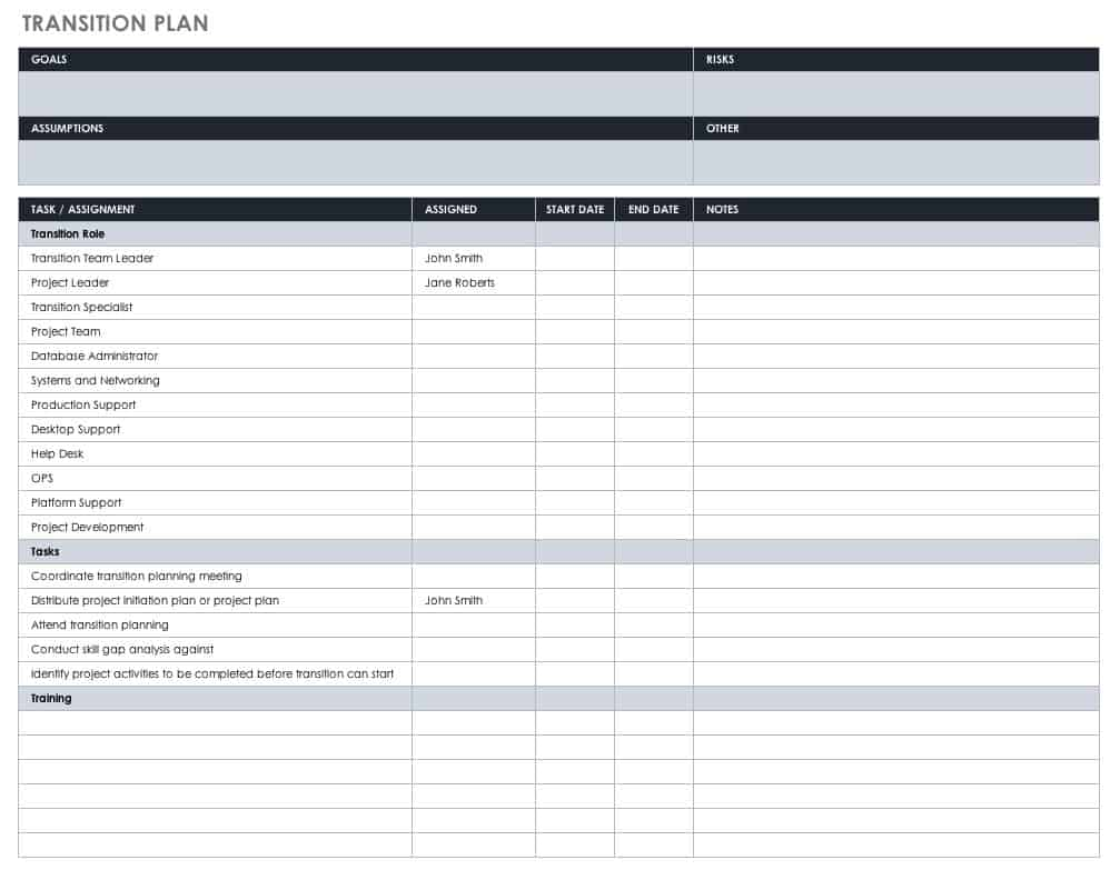 Beautiful ceo transition plan template sketch for Ceo transition plan template
