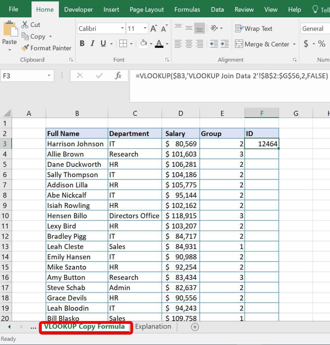 Workbooks copy formulas between workbooks : VLOOKUP Tutorial for Professionals | Smartsheet
