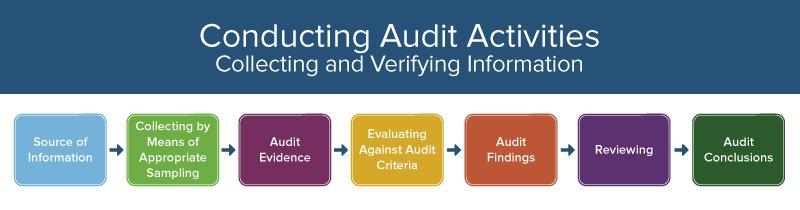 conducting audit activities