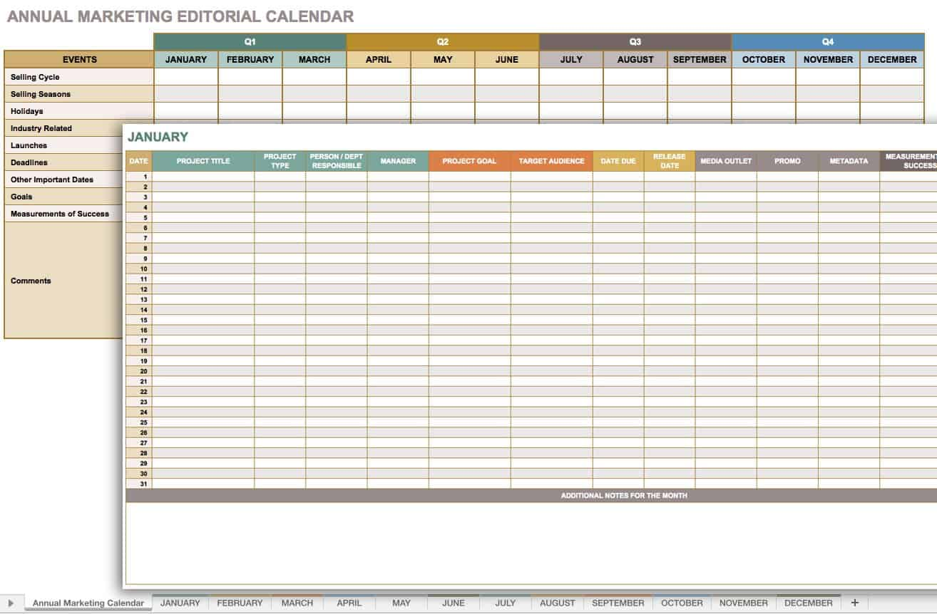 Free Marketing Timeline Tips And Templates Smartsheet - Marketing plan timeline template excel