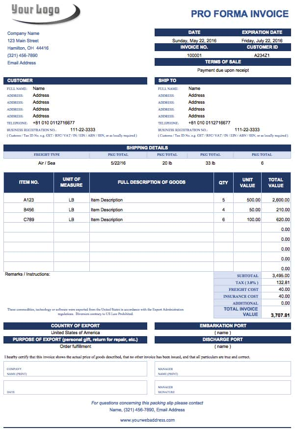 Free Microsoft Office Templates Smartsheet - Ms office invoice template