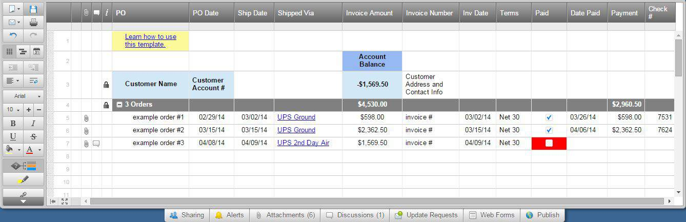 SmartsheetInvoiceTracking1.JPG  How To Make An Invoice On Excel