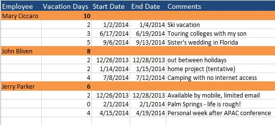 Beautiful Vacation_Schedule.JPG Nice Design