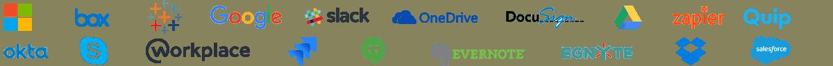Smartsheet partner logos