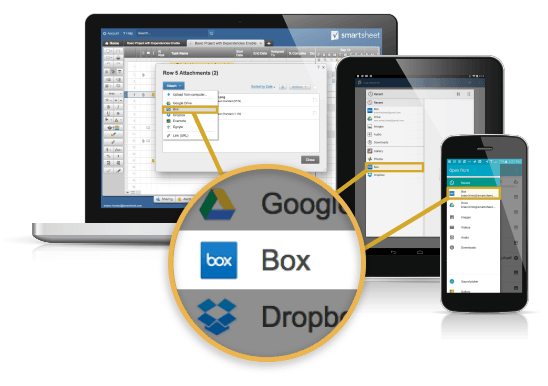 Box Integration Across Multiple Devices