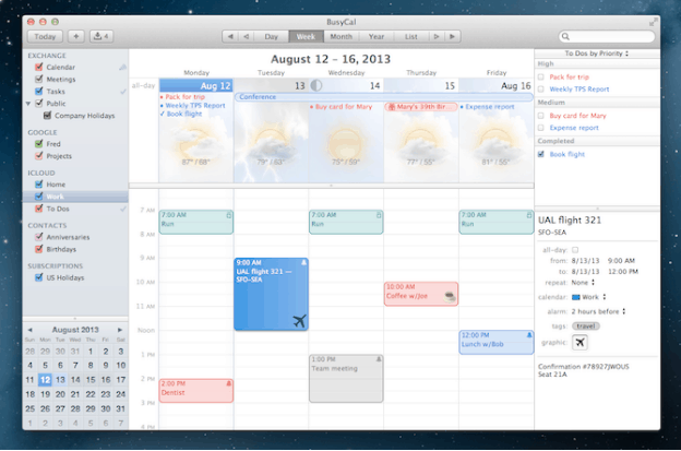 5 Best Calendar Apps For Mac