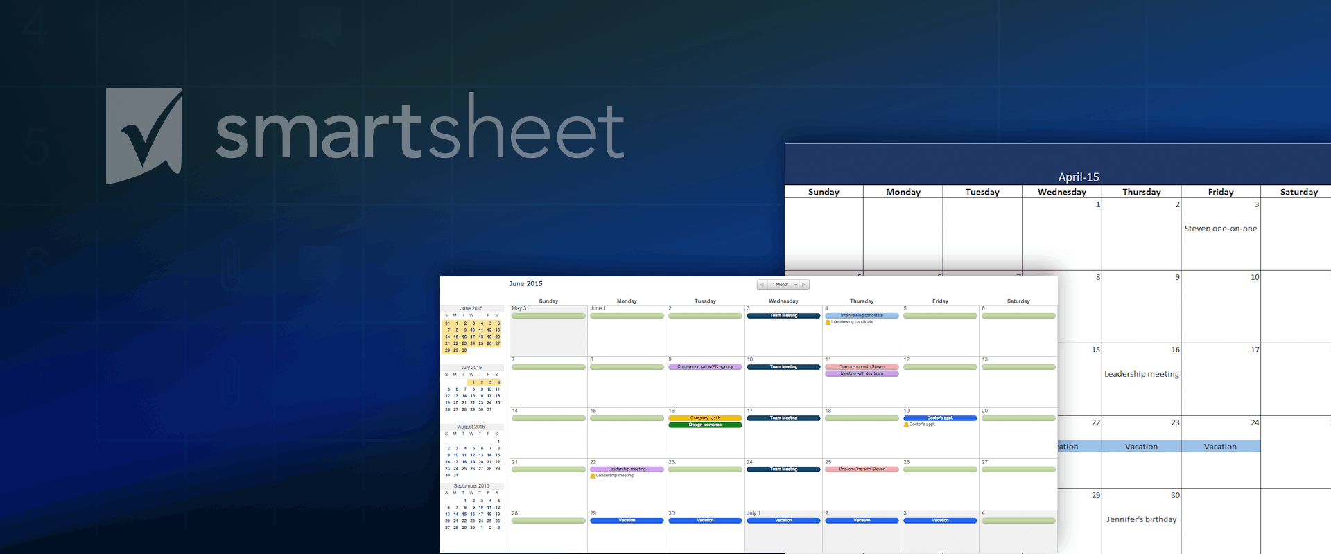 Ediblewildsus  Surprising Make A  Calendar In Excel Includes Free Template With Fascinating Vba To Export Access Query To Excel Besides Weekday In Excel Furthermore Create Heatmap In Excel With Beauteous Non Profit Balance Sheet Template Excel Also Excel Shortcut Merge Cells In Addition Excel Vba Activate Workbook And How To Download Excel For Free As Well As How To Use The Lookup Function In Excel Additionally Excel Heating And Cooling Harrisonburg From Smartsheetcom With Ediblewildsus  Fascinating Make A  Calendar In Excel Includes Free Template With Beauteous Vba To Export Access Query To Excel Besides Weekday In Excel Furthermore Create Heatmap In Excel And Surprising Non Profit Balance Sheet Template Excel Also Excel Shortcut Merge Cells In Addition Excel Vba Activate Workbook From Smartsheetcom