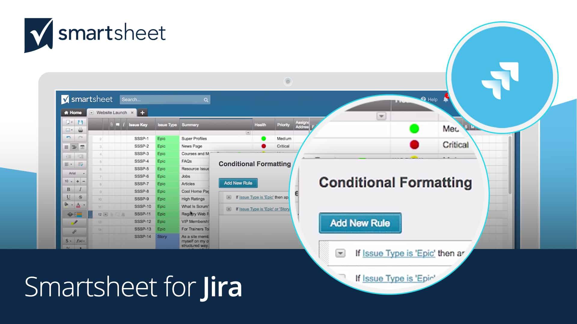 smartsheet for jira tutorial