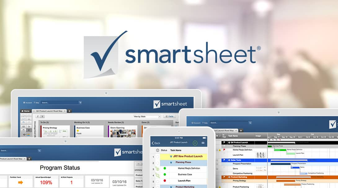 Smartsheet Work Management And Automation Solutions