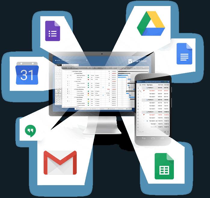 Google and Smartsheet