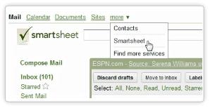 Google-Smartsheet Integration