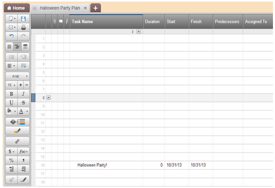 how to create a timeline in smartsheet
