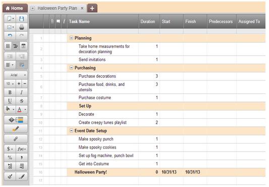 making a work schedule
