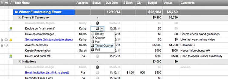 Event Planning Template With Budget  Smartsheet