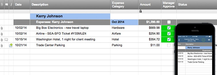 Expense Report Template | Smartsheet