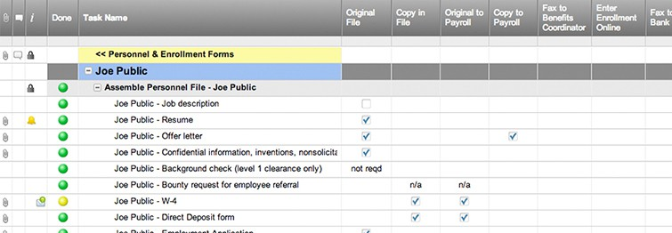 New Hire Checklist Template | Smartsheet