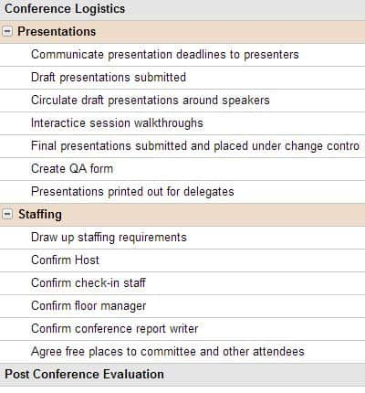 Project Manage Your Event Planning – Workshop Evaluation Forms Sample