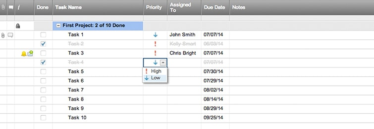 Simple Project Task List Template | Smartsheet