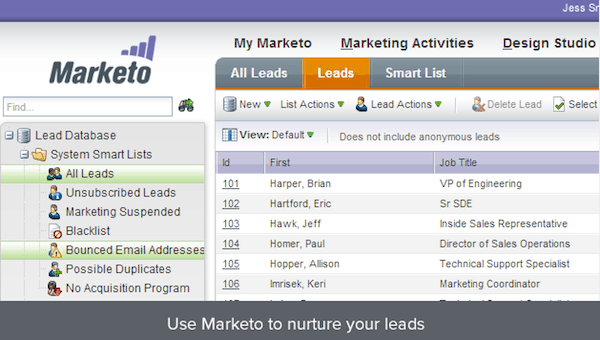 Smartsheet and Marketo