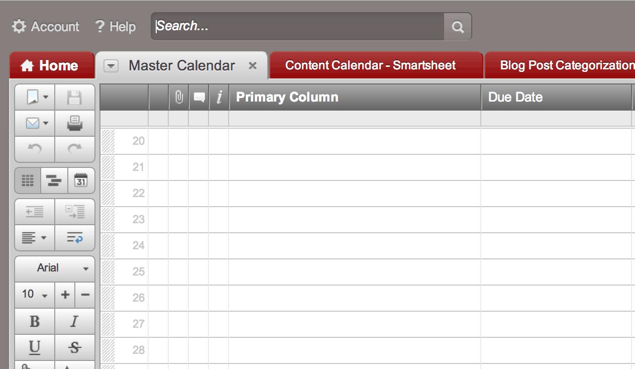 Tip: Create a Calendar Dashboard in 7 Quick Steps | Smartsheet