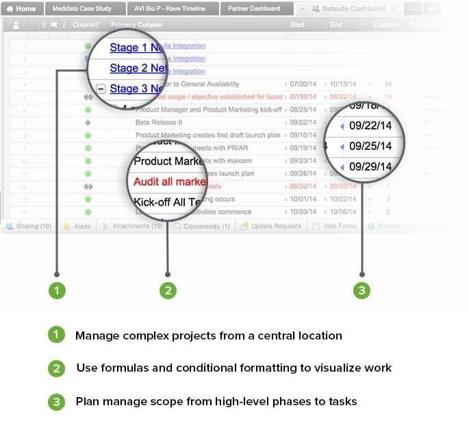 Smartsheet One Destination for Documents