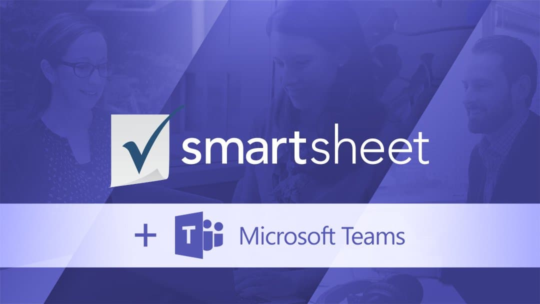 Smartsheet and Microsoft Teams